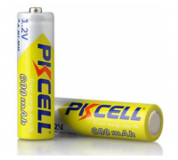 Аккумулятор PKCELL 1.2V AA 600mAh NiMH Rechargeable Battery
